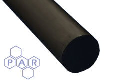 PTFE Rod - Carbon Filled