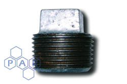Galvanised Malleable Iron Male BSPT Plug