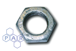 Galvanised Malleable Iron Backnut