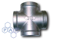 Stainless Steel Female BSP Equal Cross