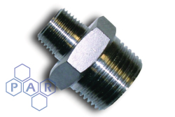 Stainless Steel Hexagon Reducing Nipple