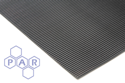 5003 - Fine Fluted Ribbed Rubber Matting