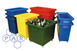 Bar Mobile Plastic Bins