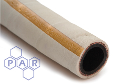 6318 - White Rubber Steam Hose