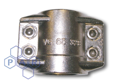 DIN Smooth Tail Coupling - Safety Clamps - Stainless Steel