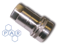 ISO A BSPP Coupling - Stainless Steel Coupler
