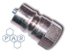 ISO A BSPP Coupling - Stainless Steel Nipple