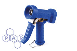 Blue Rubber Covered Washdown Gun