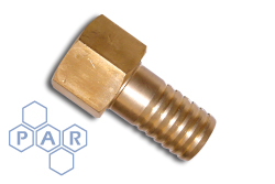Oxyacetylene Brass Fitting - Brass Nut