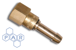 Oxyacetylene Brass Fitting - Oxygen Double Safety