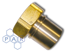 Female Hose Tail BSPP Brass