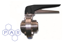 Butterfly Valve Manual - Male Ends