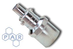 Instant Air Coupling - Nipple - Zinc Plated Steel
