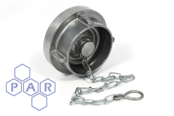 Storz Coupling Blank Cap and Chain