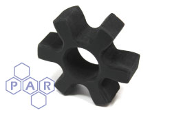 Machined Rubber Spider Coupling