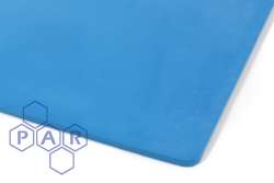 FKM Rubber Sheeting - Blue Food Quality