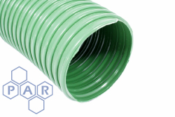 6535 - Green PVC Extraction Ducting