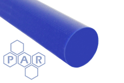 Acetal Rod - Blue Food Quality