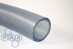 6127 - Clear Braided Phthalate Free PVC