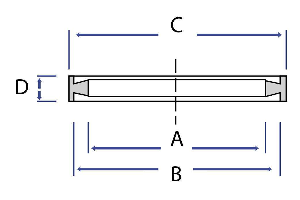 IDF Gasket - Dimensional Drawing