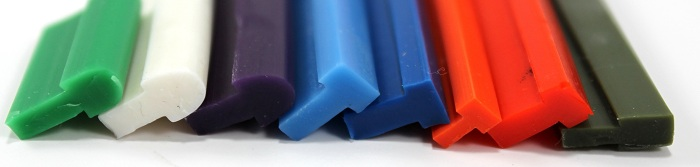 Silicone Extrusions - T-Sections