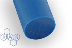 Polyethylene PE1000 Rod - UMHW Metal Detectable