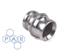 Aluminium Male Fire Coupling x Male Adaptor