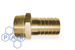 Brass Hose Tail x Male NPT