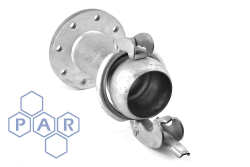Bauer Type Coupling - Male x Flanged Adaptor