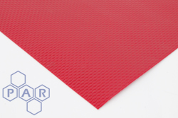 PE610R - Red PVC Coated Polyester