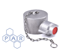 Aluminium Female Fire Coupling x Blank Cap