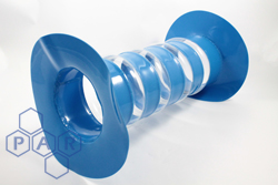 Bellow Polyurethane Sleeve with Flange