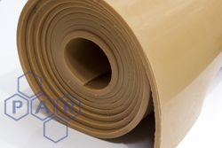 Shotblast Tan Para Rubber Sheeting