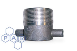 Lug Type Fixed Adaptor - Aluminium Male x Female BSPP