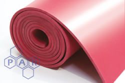 Shotblast Red Rubber Sheeting